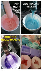 Silicone rubber liquid for mould making