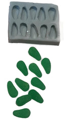 Lolly Spearmint Leaves Silicone Mould