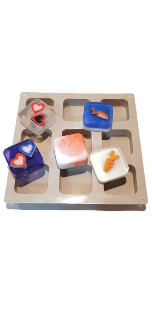 Square Bevelled Silicone Mould