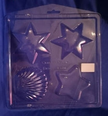 Stars and Shell PVC Mould