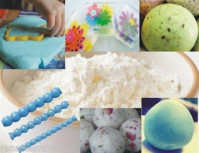 SOAP DOUGH POWDER 500gm - Make Play Doh Soaps / Piped Frosting