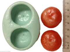 Oranges Guest (2 cavities) Silicone Mould
