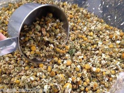 Chamomile Flowers Yellow Dried
