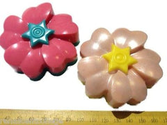 Flowers Silicone (6 Cavities - Different Shapes) Mould