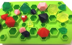 Diamonds Jewels (27 Cavities) Silicone Mould