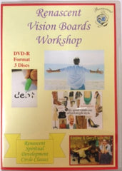 Vision Boards Correspondence Course Workshops on DVD