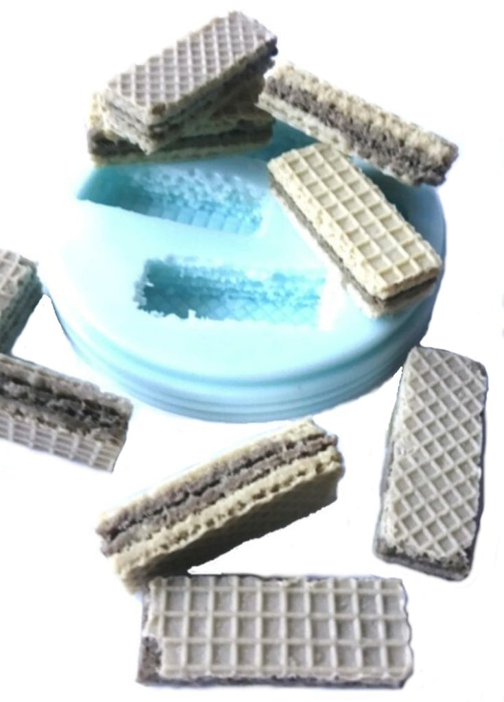 Wafer Biscuit (4 Cavity) Silicone Mould
