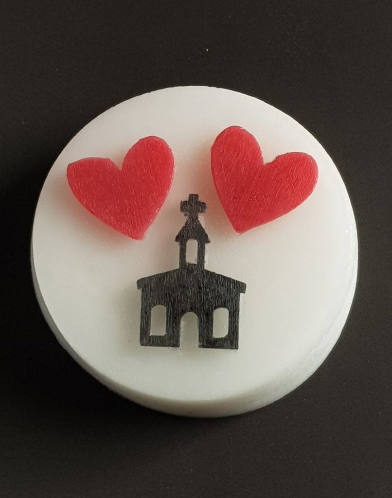 Wedding Chapel Silicone Mould