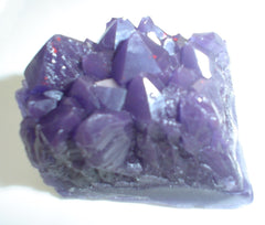 Amethyst Cluster Gem Specimen Soap Bar