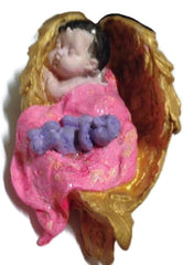 Baby - Angel Winged Silicone Mould