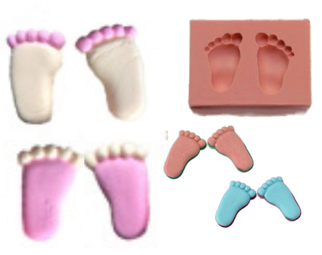 Baby Feet Silicone Mould
