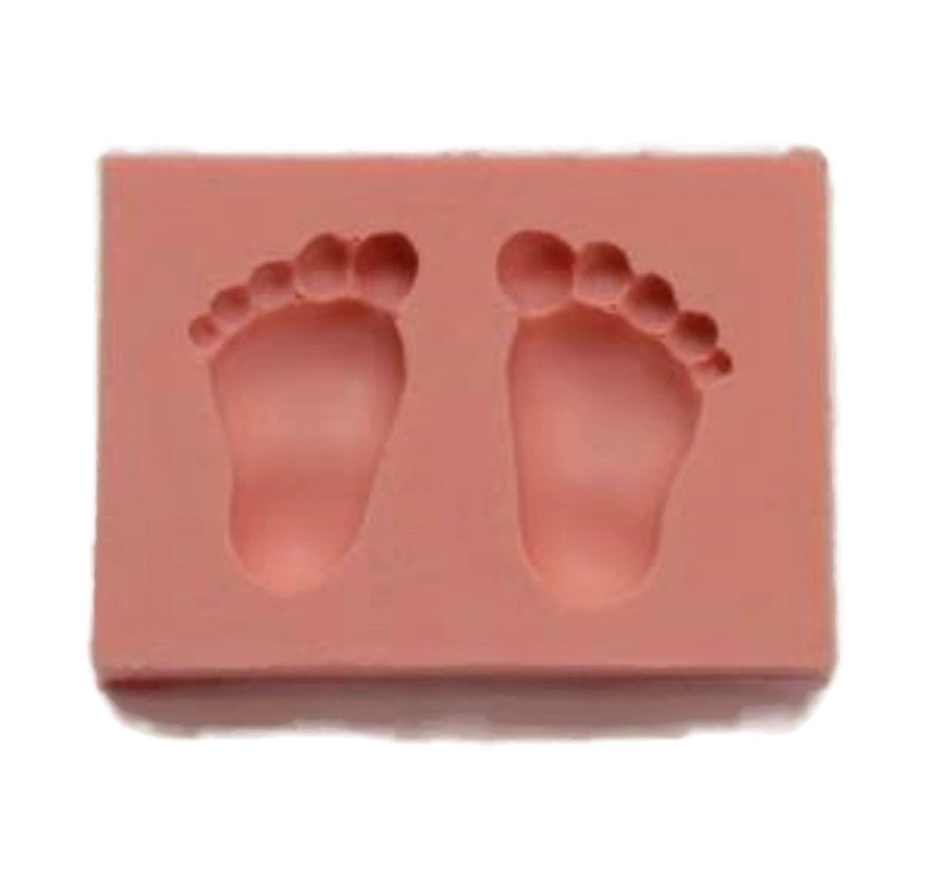 Baby Foot Milk Bottle Baby Mould Soap Candle Diy