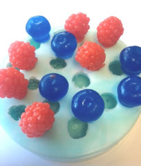 Blueberries, Blackberries, Raspberries (14 Cavity) Embed Silicone Mould