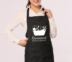 Apron Renascent Bath and Body - Black and White