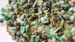 Emeralds Tumbled polished x 20