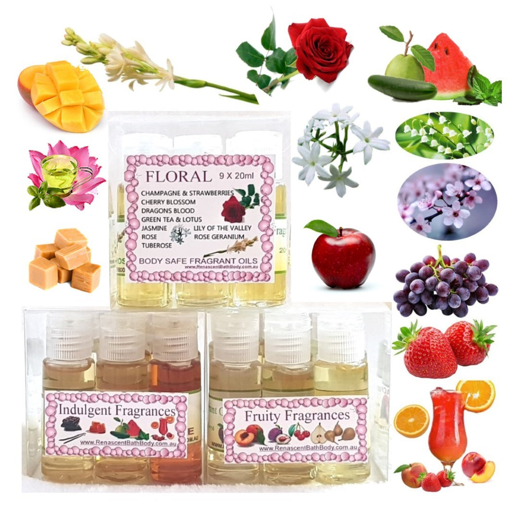 Fragrant and Essential Oils X 3 Kits - 27 oils