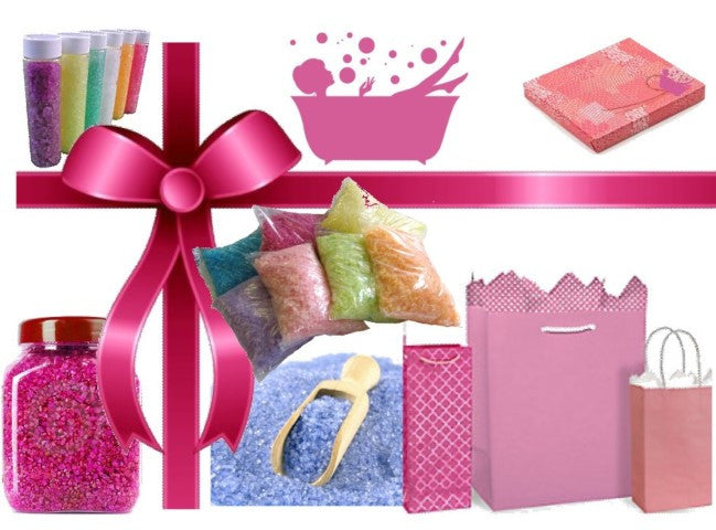 Bathe Me Up Gift Pack Business Starter $200 (Bathing Salts)
