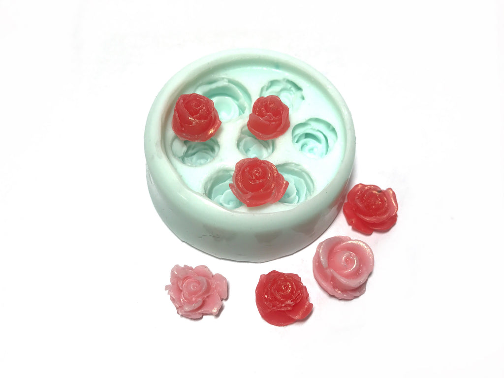 Roses Mini (7 cavity) Silicone Mould