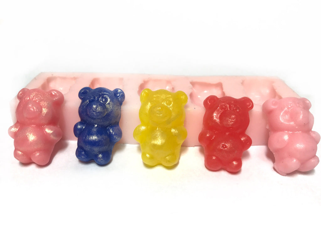 Teddies (5 cavities) Silicone Mould