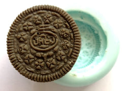Chocolate Cookie Round Biscuit Silicone Mould