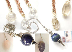 Faceted Gemstone Pendulum
