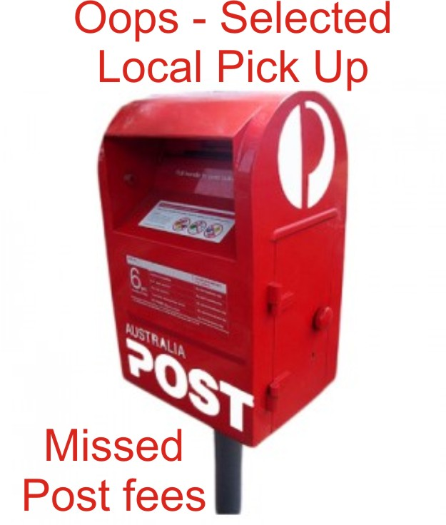 Postal / Postage charges missed from last invoice