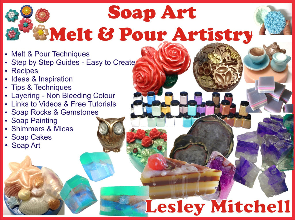 Soap Art Instructional Video basics - downloadable