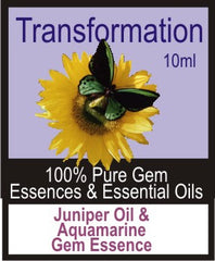 Transformation Essence Oil (Juniper, Tuberose, Aquamarine)