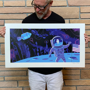"""Moon's End"" Unframed Print"
