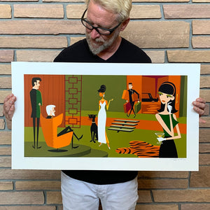 """Queen of Sheba"" Unframed Print"