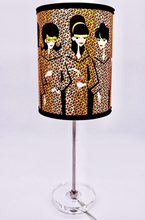 "Load image into Gallery viewer, ""Leopard Coats"" Table Lamp"