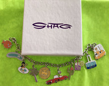 "Load image into Gallery viewer, ""Palm Springs"" Charm Bracelet - Includes 10 Great Charms to get you started!"