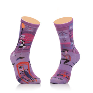 """Blow Up"" Women's Crew Socks"