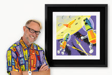 "Load image into Gallery viewer, ""Forbidden Planet"" Framed Print"