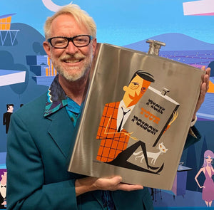 """Exotic Locale"" Earthernware Coaster Set"