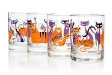 "Load image into Gallery viewer, ""Kitty Cocktail Party"" Old Fashioned Glass Set 