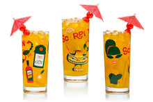 "Load image into Gallery viewer, ""Tiki Cocktails"" Highball Glass Set - More Coming Soon!"
