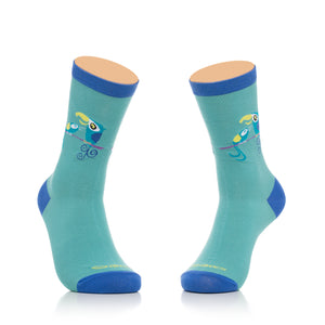 """The Daily Perch"" Women's Crew Socks"