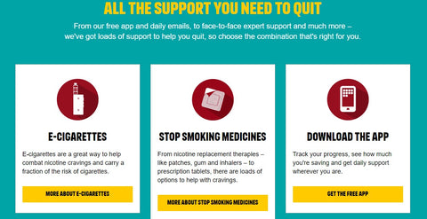 Televised Stoptober campaign