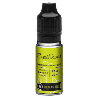 Apple Pie A La Mode - Simply Vapour