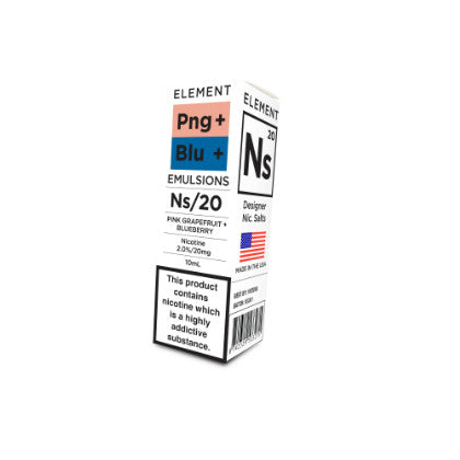 NS20 Pink Grapefruit & Blueberry - Emulsions