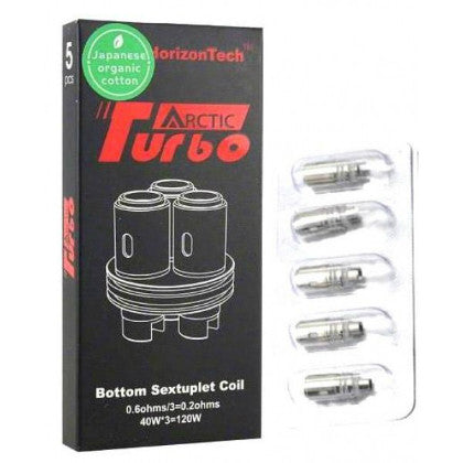Horizon Arctic Turbo Coils (5 Pack)