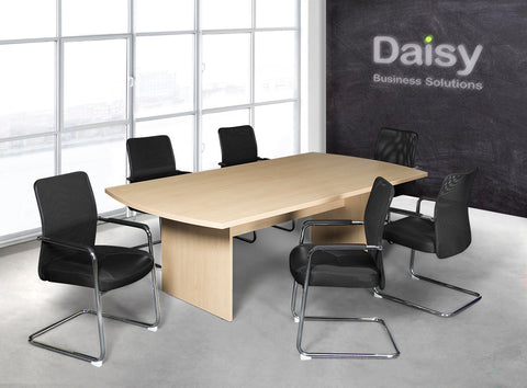 Smart Boardroom Table Neo Visitors Chairs
