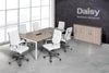 Image of Boardroom Benching Solution Alaska White Chairs