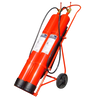 Carro Extintor de 20 Kg. CO2 - 2 Botellas//20 Kg CO2 Fire Extinguisher Trolley with - 2 Bottles