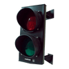 Semáforo SF 424 de LED Rojo y Verde a 24V//Traffic light SF 424 of Red and Green LED to 24V