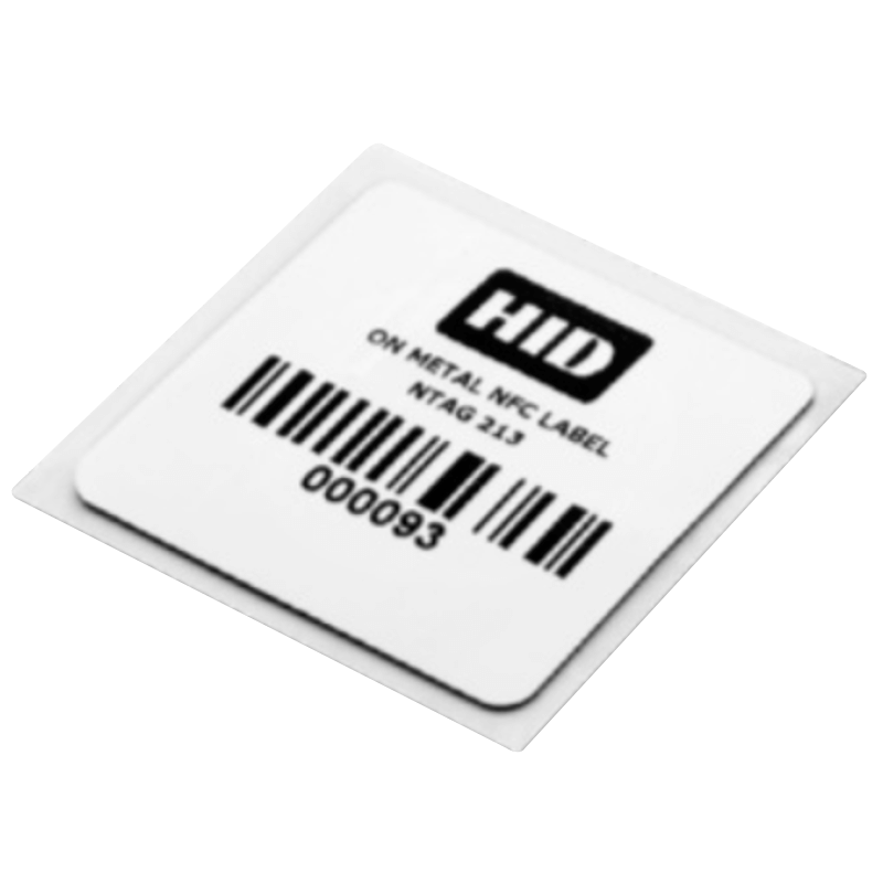 Adhesivo HID® Label Tag OM (107 x 19 mm) - UHF US//HID® Label Tag UHF OM Sticker - US (107 x 19 mm)