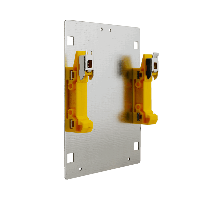 Soporte para Carril DIN de Trafos TRP / TRZ20-40VA//DIN Rail Mounting Kit for TRP / TRZ20-40VA Transformers