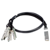 PLANET™ 40G QSFP+ to 4 10G SFP+ Direct Attached Copper Cable (3M length)//PLANET™ 40G QSFP+ to 4 10G SFP+ Direct Attached Copper Cable (3M length)
