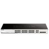 Switch D-Link® Gigabit de 24 Puertos Ethernet (+4 1000BaseT/SFP) - L2//D-Link® Gigabit 24-Port Ethernet Switch (+4 1000BaseT/SFP) - L2